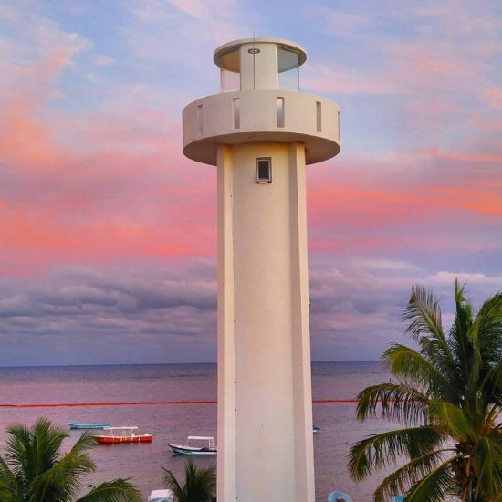 Puerto Morelos new lighthouse